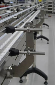 stainless guide rail brackets