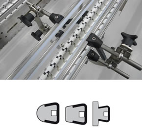 guide rail designs flex link