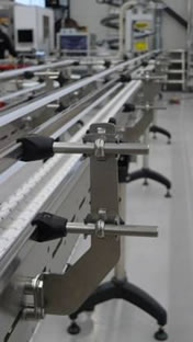 wash down flex link conveyors