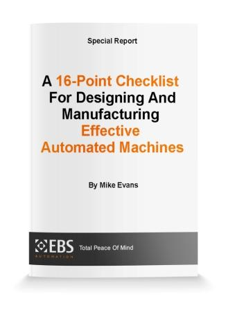 Special Machines — EBS Automation